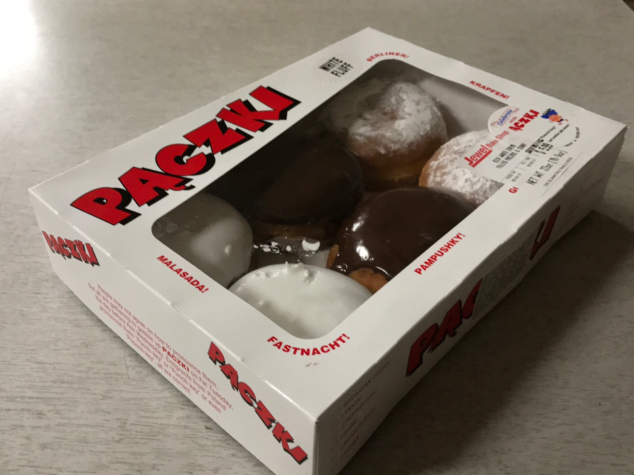 Fat Tuesday is Paczki Day!